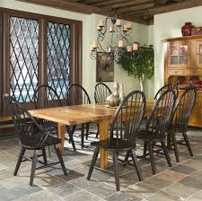 intercon rustic traditions table w 4 tapered legs chair set item number