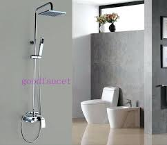 showerhead and faucet combo prodigious shower head combos single handle 4 spray tub with interior design