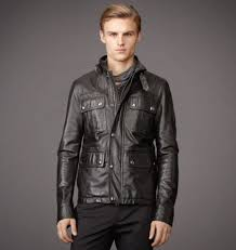 unusual usa black belstaff leather jacket mens warrington jacket in signature hand waxed leather o