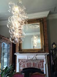 industrial vintage bubble glass pendant light ceiling fixture