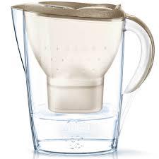 brita water filter. BRITA Marella Cool Water Filter Jug - Gold Glitter (2.4L) Homeware | TheHut.com Brita E