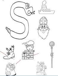 De 59 Beste Afbeelding Van Kleuters Sint Preschool Saint Nicholas