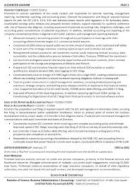 Sample Resume In Accounting Field Resume For Accountant