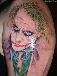Tetování Jokera Jokers Joke