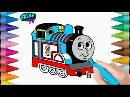 You might also be interested in coloring pages from thomas & friends category. Drawing And Coloring Learn Easy Drawing And Coloring Thomas Train Coloring Page For Kids Youtube