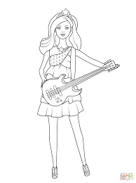 Small Picture Barbie Pop Star Keira coloring page Free Printable Coloring Pages
