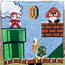 Super Mario: The Hidden Quilt Level | & Want a video game quilt? Adamdwight.com