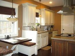 yellow kitchen color ideas horizontal metal handling black flooring wooden natural mobile island double sides towel