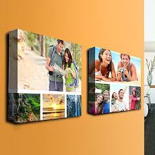 custom collage canvas print photo wall art personalized and fully customizable on personalized photo collage wall art with custom collage canvas print photo wall art personalized and fully