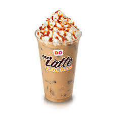 dunkin donuts iced caramel latte lite small 80 calories