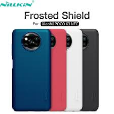 For Xiaomi <b>Poco</b> C3 <b>X3</b> NFC <b>Case</b> Nillkin Frosted Shield Matte Hard ...