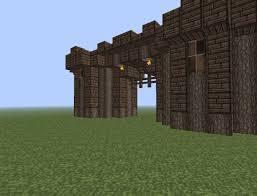 minecraft gate design. Fine Gate Build Your Own Castle Part 1 Wooden Keep Minecraft Project Attractive   In Gate Design T