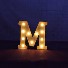 letter lighting. 9\ Letter Lighting