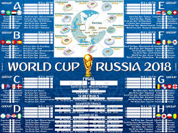 World Cup Fixture Chart Wasnt Able To Find A World Cup Wallchart With The Things I