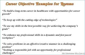 Career Change Resume Objective Statement Examples Awesome Objective Impressive Career Change Resume Objective Statement
