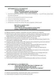 Welding Inspector Resume Resume Ideas Pro