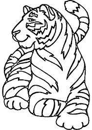 Animaux Dessin A Colorier Tigre Dessin Coloriage Tigre Dessin A