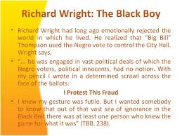 racial discrimination protest p pt richard wright