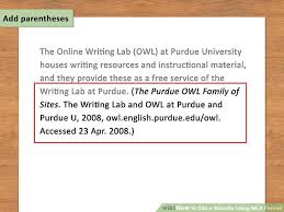 Mla In Text Citation For Website How To Cite A Website Using Mla Format 15 Steps With Pictures