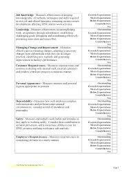 Employee Performance Evaluation Form Template – Sureshothockeyschool.com