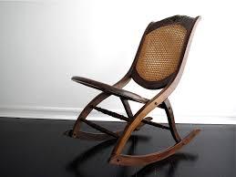 folding wooden rocking chair designs