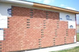 brick veneer exterior wall image of brick veneer panels ideas designs brick veneer outside wall