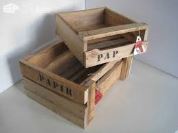 pallet box. wooden boxes made of pallet wood \u0026 chests box