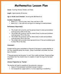 sample lesson plan outline lesson plan examples bio resume samples