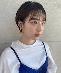 タグ付けヘアスタイルの紹介 ショートヘアカタログ