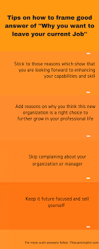 What To Say When Asked In An Interview Why You Want To Change