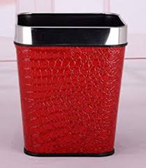 Trash Cans European Fashion Without Cover Trash ... - Amazon.com