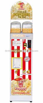 Popcorn Vending Machine Inspiration Poppy Popcorn Vending Machine Double FillingAutomat For Sweet And
