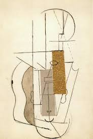 Upside Down Art Picasso Collage Of Still Life With Violin Upside Down Version Of