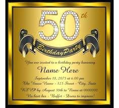 50th birthday invitations free printable 50th party invitations free invitation cards
