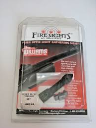 williams fire sight fit ruger 10 22 60213 fiber optic firesight red green new