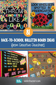 Classroom Decoration Charts For High School 81 Back To School Bulletin Board Ideas From Creative Teachers