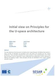 Principles Of Architecture Sesar Joint Undertaking Initial View On Principles For The