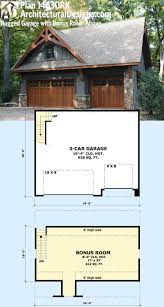30 best garage and carriage house plans images on incredible 3 car with living space