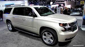 2015 Chevrolet Suburban LTZ - Exterior and Interior Walkaround ...