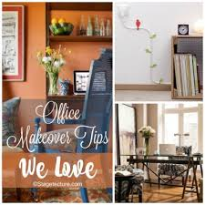 ideas for an office. Round Up Ideas: Office Makeover Tips We Love Ideas For An Office