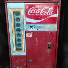 Vintage Coca Cola Vending Machines