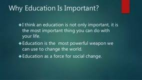 essay on importance of education in our life essays for essay on importance of education in our life
