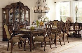 Chandelier Over Dining Room Table Charming Formal Dining Room Sets With Elegant Furniture And