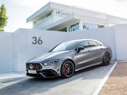 You don't even have to drive it to sense the difference. Mercedes Benz Cla45 S Amg 4matic 2020 Pictures Information Specs