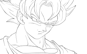 Small Picture Dbz Goku Coloring Pages PDF Free Printable GOKU Coloring Pages