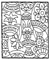 Fourteen free printable easter egg sets of various sizes to color, decorate and use for easter egg with simple flower pattern coloring page from easter eggs category. Easter Eggs Coloring Page Crayola Com