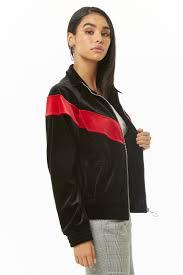 velvet chevron jacket