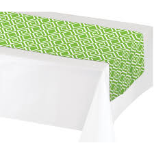 add to my lists table runner green 317335