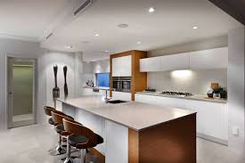 two tone kitchen cabinets modern dark color countertop glass accent black and white wall rectangle sink