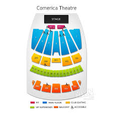 Comerica Seating Chart Phoenix Comerica Theatre Seating A Guide To The Phoenix Events